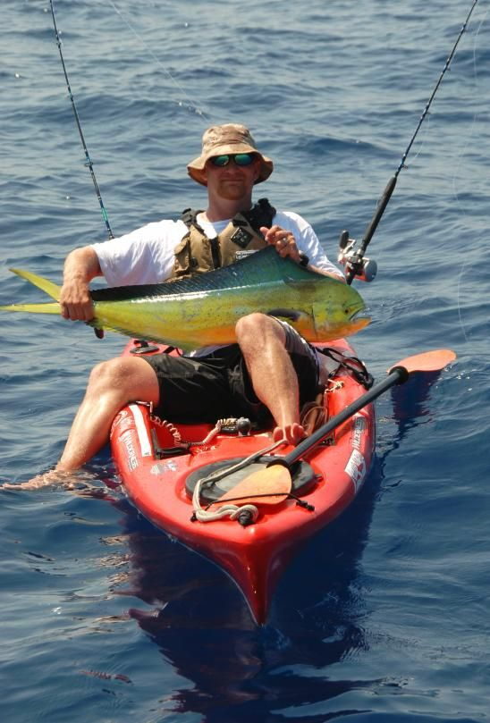 The Outer Banks host several opportunities for fishing whether its off a  pier or in a kayak.  http://www.outerbankskayakfishing.com/Services.html
