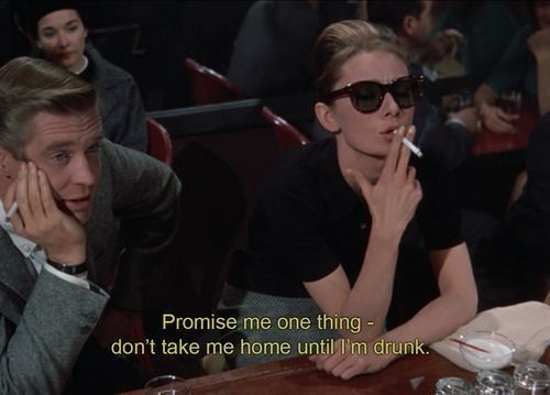 Good Flick. Don't even act like you wouldn't want to be Holly Golightly.
