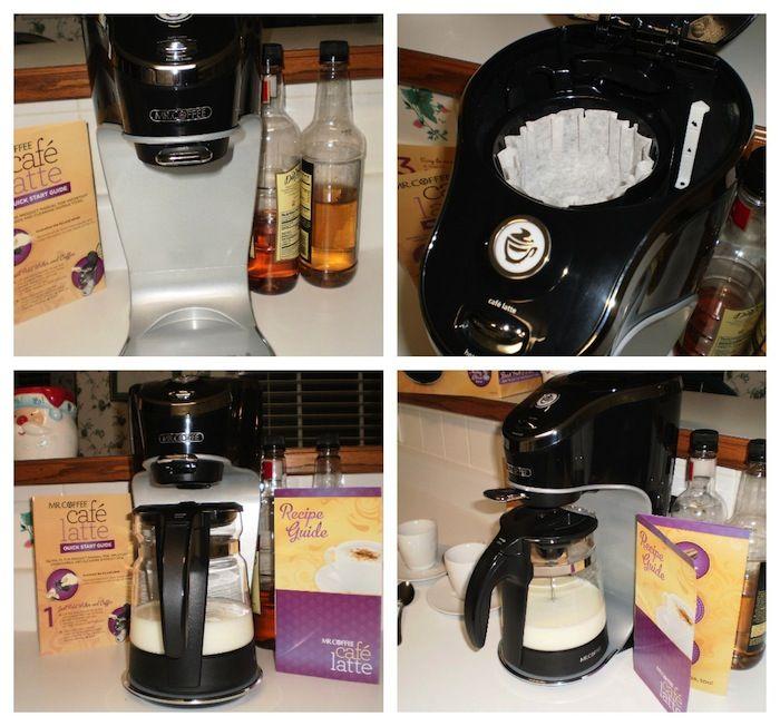 Mr. Coffee Café Latte Maker {Review} & Pinterest Contest #mrcoffeelatte