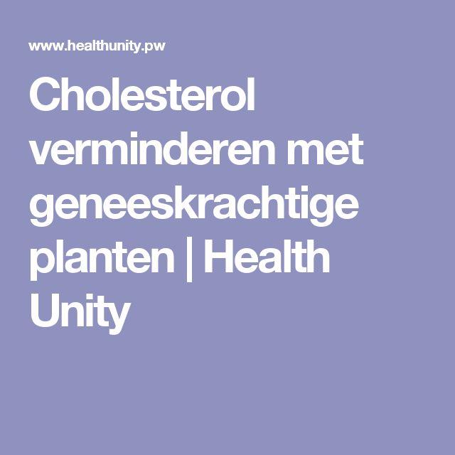 Cholesterol verminderen met geneeskrachtige planten | Health Unity