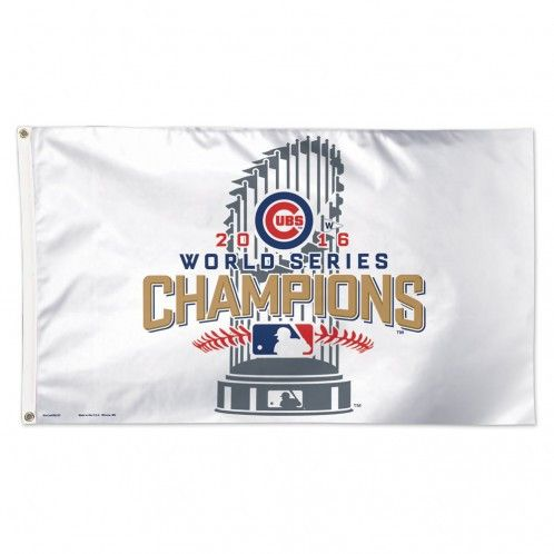 WORLD SERIES CHAMPIONS CHICAGO CUBS FLAG - DELUXE 3' X 5'