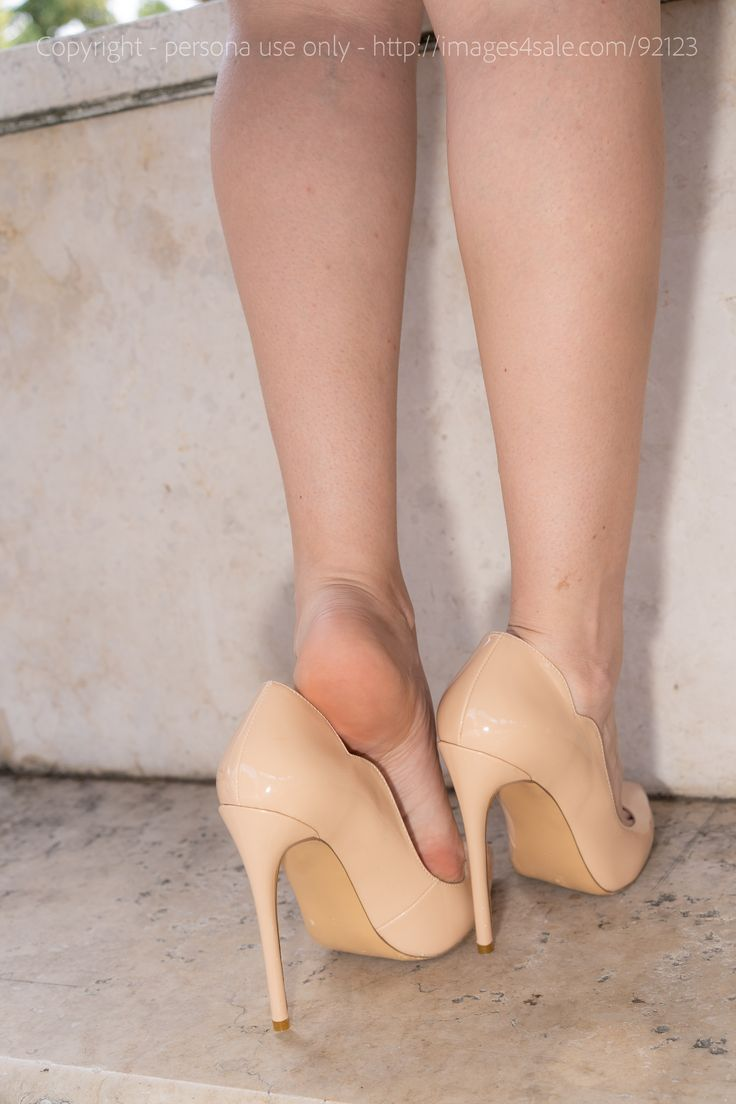 Pin on CFM High Heels Flats Ankle strap Toe Cleavage