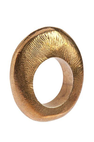 Rosalba Balsamo, Anello, Serie Eclipse Bronzo lucido | jewelry
