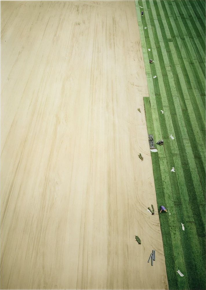 Arena III    photo by Andreas Gursky, 2003