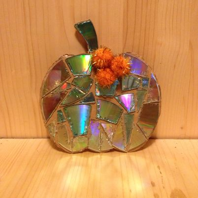 Make a Lovely Sparkle Pumpkin