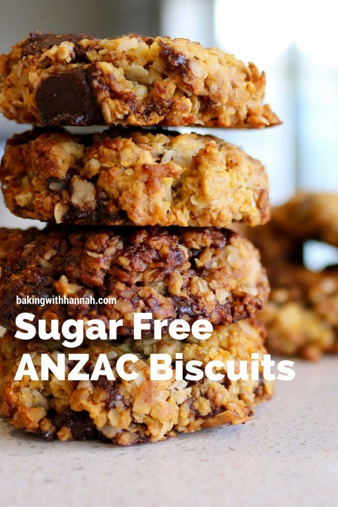 Sugar free Anzac Biscuits, these are surprisingly good, but dont take my word for it try them out!