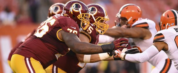 Morgan Moses, Brandon Scherff See First Game Action Together