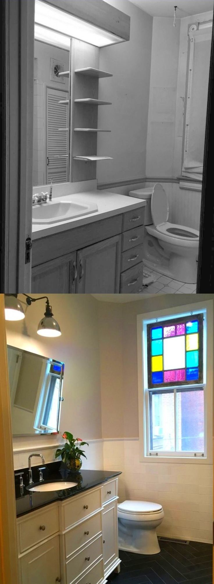 Before and After  Washington  DC Bathroom Reno. 17 Best images about Bathroom Renovation on Pinterest   Bungalow