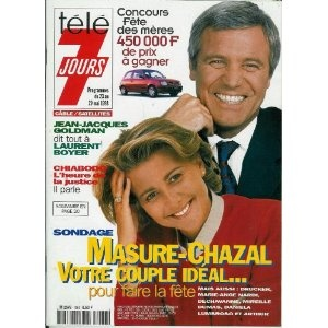 Télé 7 jours (n°1982) du 23/05/1998 - Bruno Masure - Claire Chazal - Jean-Jacques Goldman - Olivier Chiabodo - Don Johnson - Véronique Jannot - Heather Thomas - Alexandra Vandernoot - ... [Magazine mis en vente par Presse-Mémoire]
