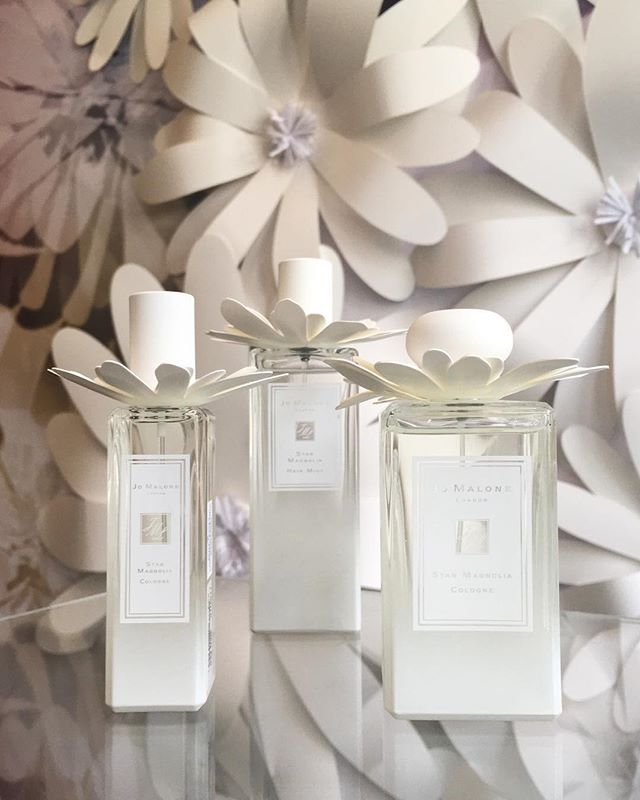Jo Malone recreates the scent of a fresh delicate flower in the new limited edition Star Magnolia Cologne that's accompanied by a matching Hair Mist - a first for the brand. $108 for 30ml Cologne $215 for 100ml Cologne and $97 for 50ml Hair Mist. Available from May. #jomalonelondon #nylonsgbeauty  via NYLON SINGAPORE MAGAZINE OFFICIAL INSTAGRAM -Celebrity  Fashion  Haute Couture  Advertising  Culture  Beauty  Editorial Photography  Magazine Covers  Supermodels  Runway Models