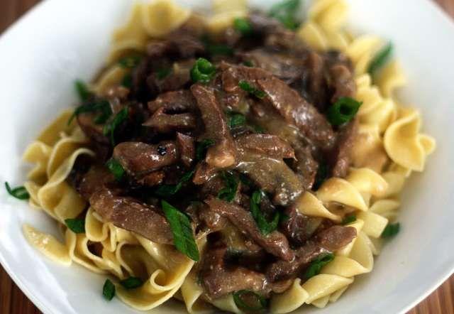 Slow Cooker Beef Stroganoff   Jennifer Cooks