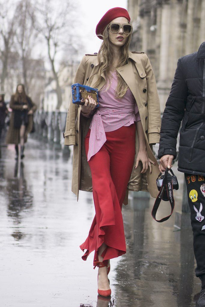 Best Paris Fashion Week Street Style Fall 2017 | POPSUGAR Fashion Photo 150 #parisfashionweeks,