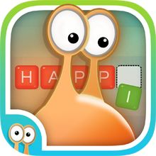 """Happi Connect & Collect App """"A really fun and educational word association game for kids that will help improve picture/word association, spelling and vocabulary, highly recommended, A4cwsn"""""""