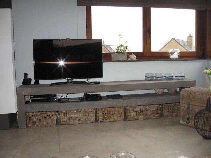 Steigerhout tv meubel quentin steigerhout furniture for Steigerhout tv meubel