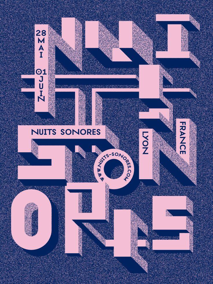 Nouvelle identité graphique pour les Nuits Sonores par Superscript² !