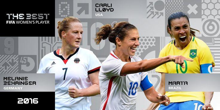 Marta está entre as finalistas ao prêmio de melhor jogadora do mundo da Fifa #globoesporte