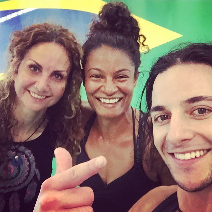 What a super fun way to start the weekend - with a Baila dance class! Had an absolute ball with these two very talented dance instructors @satoristudiosmelbourne today. Teaching #salsa #samba #merengue everything about #latindance is intoxicating fun.... and