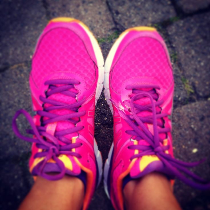 Pretty in #pink #asics #trainers #running #fitness #exercise