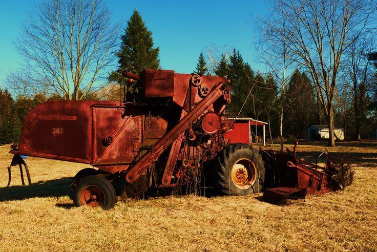 Abandoned farm equipment, Hopewell, New Jersey
