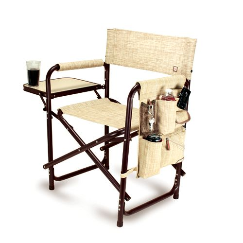 The Sports Chair   Botanica By Picnic Time Is The Ultimate Spectator Chair  Or Outdoor Patio Chair. Itu0027s A Lightweight, Portable Folding Chair With A  Sturdy ...