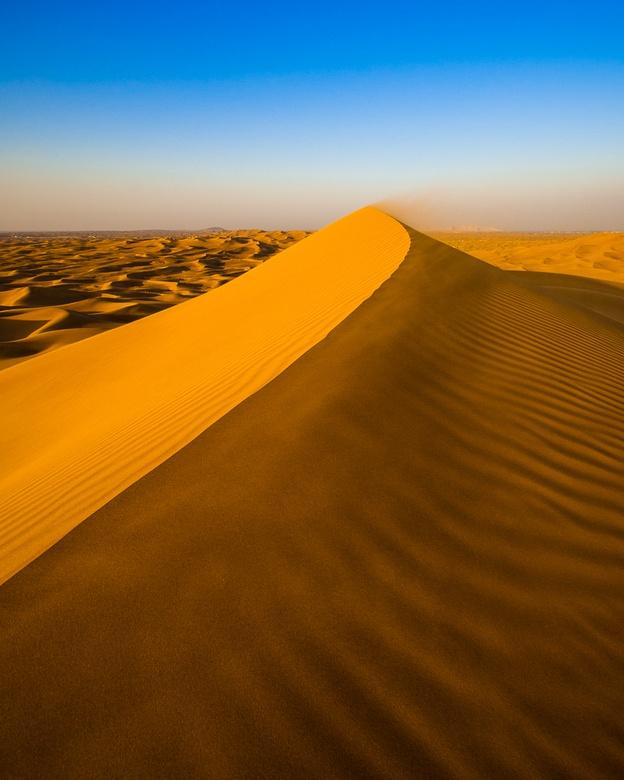 Woestijn in Dubai