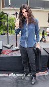 Director Francesca Gregorini attends Ringo Starr's 75th birthday fan gathering at Capitol Records on July 7 2015 in Hollywood California