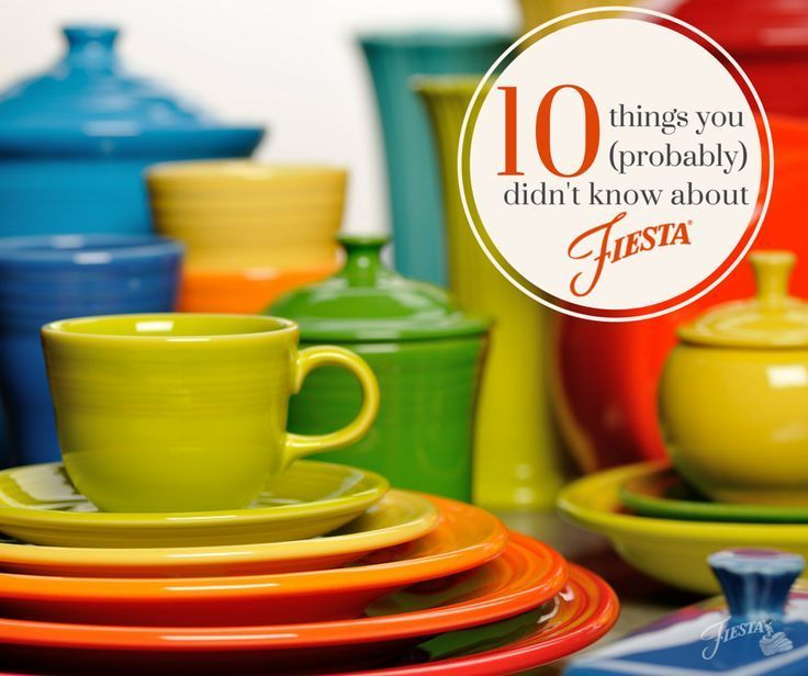 Did you know that Fiesta Dinnerware is 79 years old? Wow! In all of : fiesta dinnerware - pezcame.com
