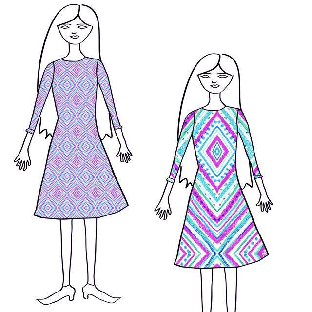 fashion plates :) #gatosyrinocerontes #surfacedesign #design #pattern #patterdesign #design #painting #handmade