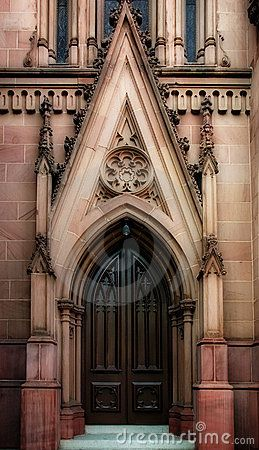 Gothic Doors | Gothic Door Royalty Free Stock Photos - Image: 858318 & 50 best Church Doors images on Pinterest | Windows Front doors ... Pezcame.Com
