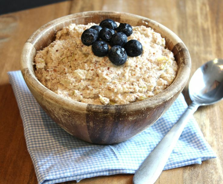 "Apple Cinnamon ""Oatmeal"" | Food- Pinworthy Recipes | Pinterest"