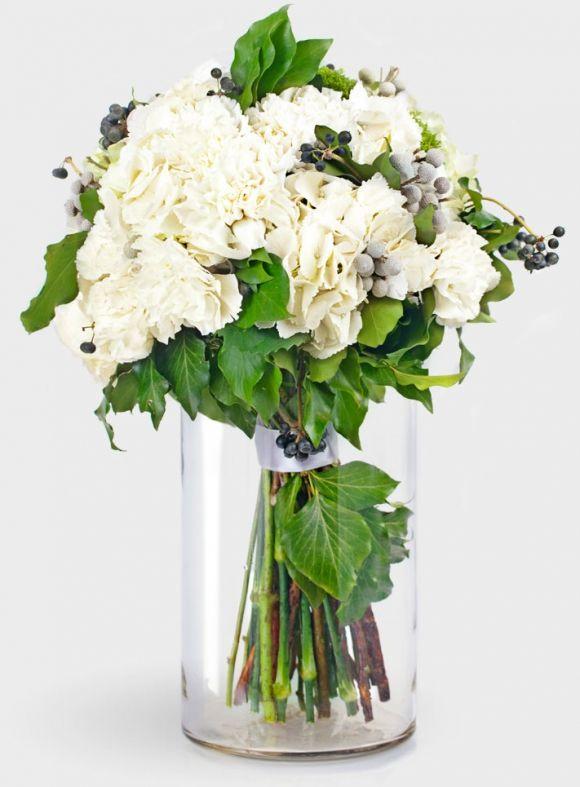 Bouquet №41 гортензия, хедера, бруния