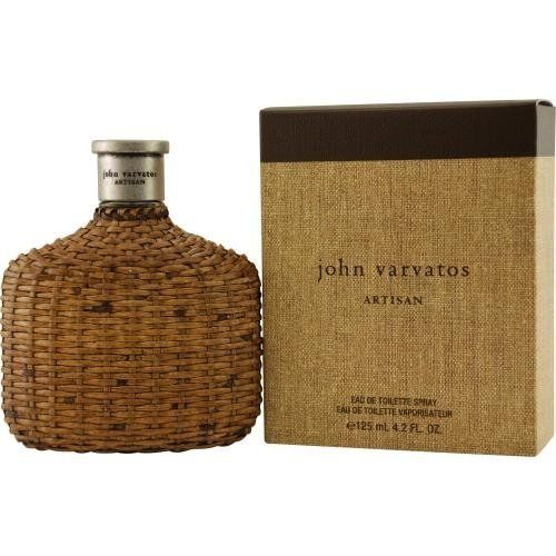 JOHN VARVATOS ARTISAN by John Varvatos Cologne for Men (EDT SPRAY 4.2 OZ) by John Varvatos. $49.40. **No U.S. Sale Tax** 4.2 oz Eau De Toilette EDT Spray. John Varvatos Artisan by John Varvatos for men. New in Box. John Varvatos Artisan by John Varvatos for men A herbal and woody fragrance with a splash of citrus notes. Bottle made of hand woven rattan and gives a reminiscent of a vintage flask.