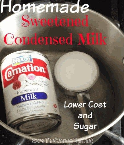 Doing some Holiday baking and need Sweetened Condensed Milk? Here's a Money Saving Tip.