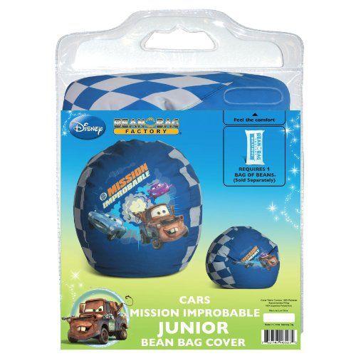 Disney Cars Mission Improbable Junior Bean Bag Chair Cover @ niftywarehouse.com #NiftyWarehouse #Disney #DisneyMovies #Animated #Film #DisneyFilms #DisneyCartoons #Kids #Cartoons