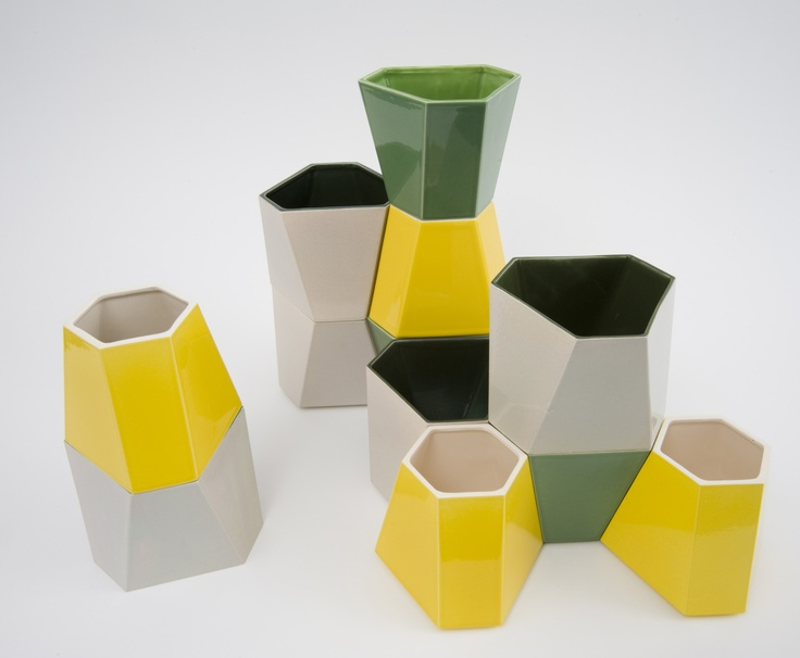 Modular project – from 2D to 3D, Camille Flammarion, MA Ceramics and Glass