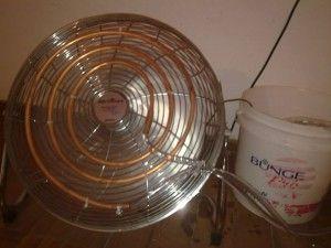 aier acondicionado con ventilador y sal