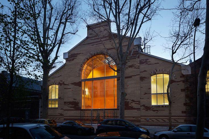 Halles de recherche - Ecole Nationale Supérieure des Arts et Métiers (ENSAM-ParisTech), par ARCHITECTURE PATRICK MAUGER