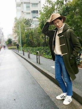 JUNRed 泉北髙島屋   KURE.さんのデニムパンツ「RING JACKET 」を使ったコーディネート