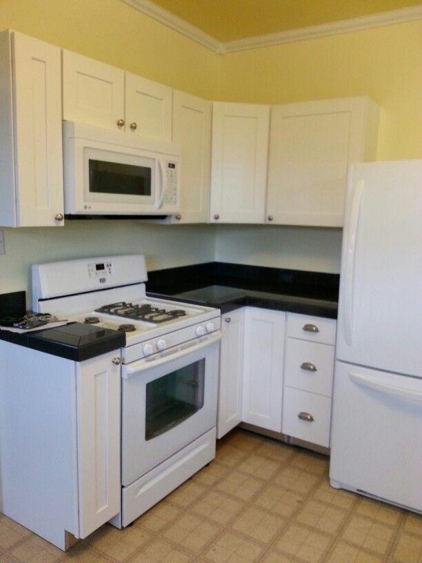 yellow kitchens old houses kitchen remodel forward yellow white black