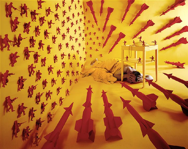 """Cold War"" by Sandy Skoglund"