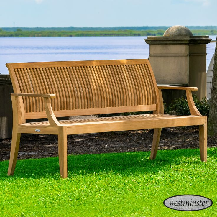 It's Summer!....Good time when memories are made.  Known internationally for their style and durability, Westminster Teak benches feature extra thick cuts of wood and the industry's smoothest, sanded finish. Whether you're looking for a 6 foot outdoor bench, a 6 foot garden bench or another style altogether, you won't find a better teak bench on the market.  #outdoordesign #westminsterteak #ourluxuryhome #outdoorterrasse #porchdecor #exteriordesign #outdoorspace #bohohomedecor #bohemianstyle…