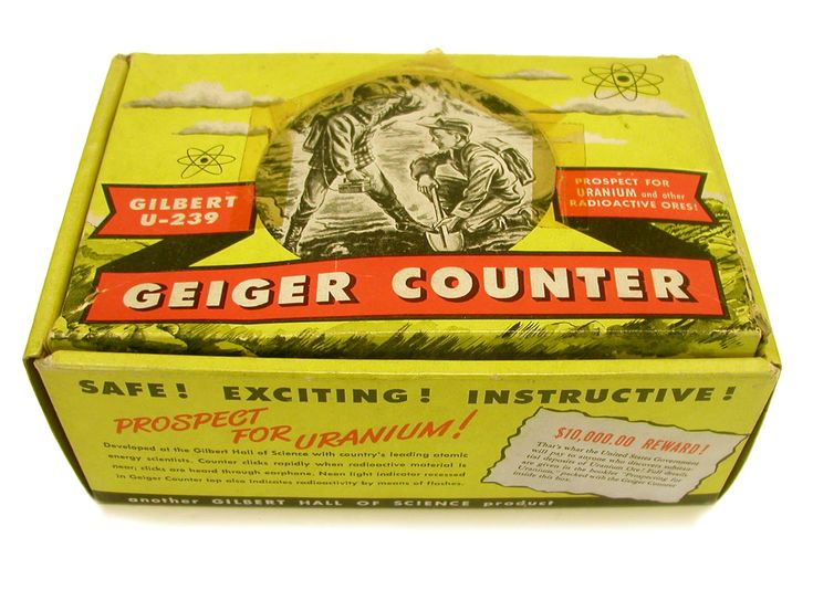 Gilbert U-239 Geiger Counter (ca. 1950s)