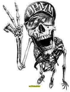 31 awesome girly skull - photo #38