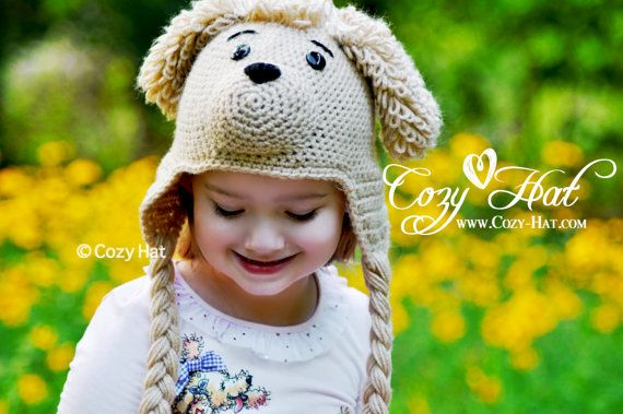 Pasha the Poodle Hat by CozyHat on Etsy, Sale $45.00