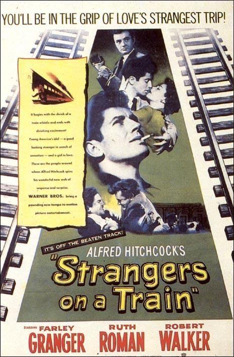 Extraños en un tren (1951). Lo mejor del maestro Hitchcock