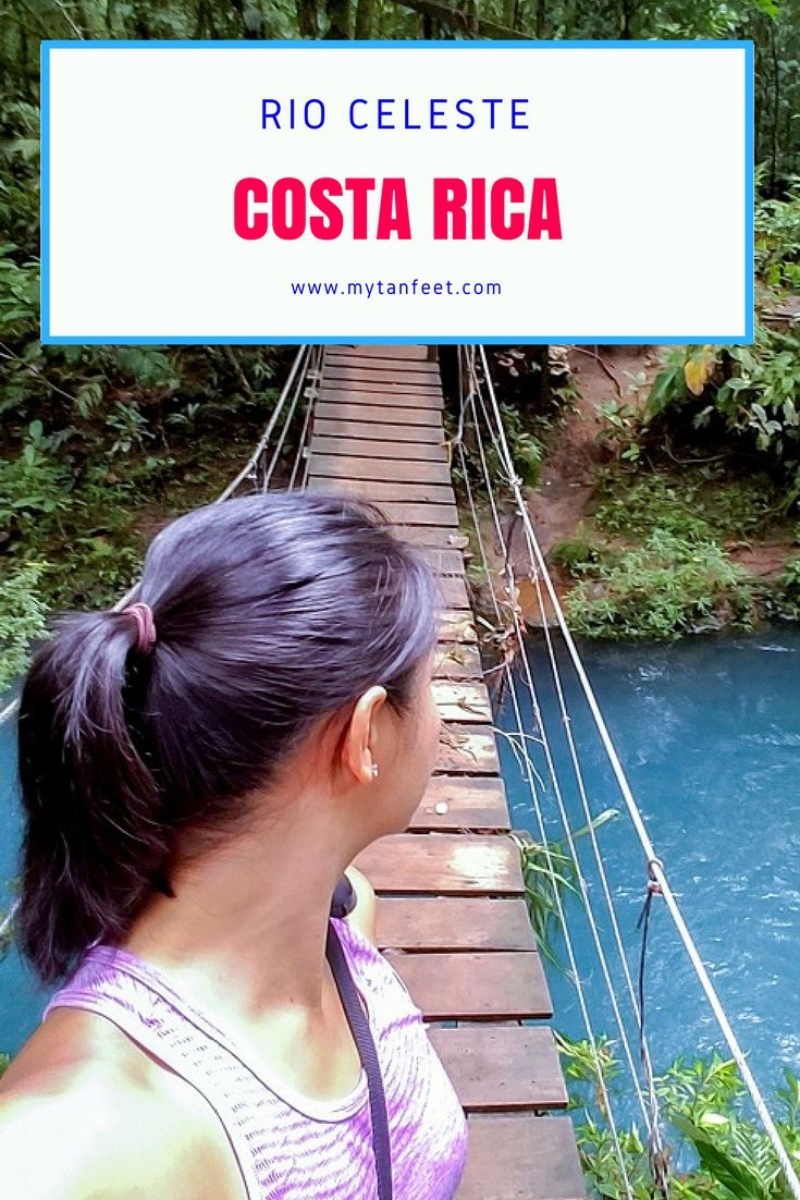 Rio Celeste is one of the most magical places in Costa Rica that visitors can't miss. Click through to read our guide to visiting: http://mytanfeet.com/activities/tips-visiting-rio-celeste/
