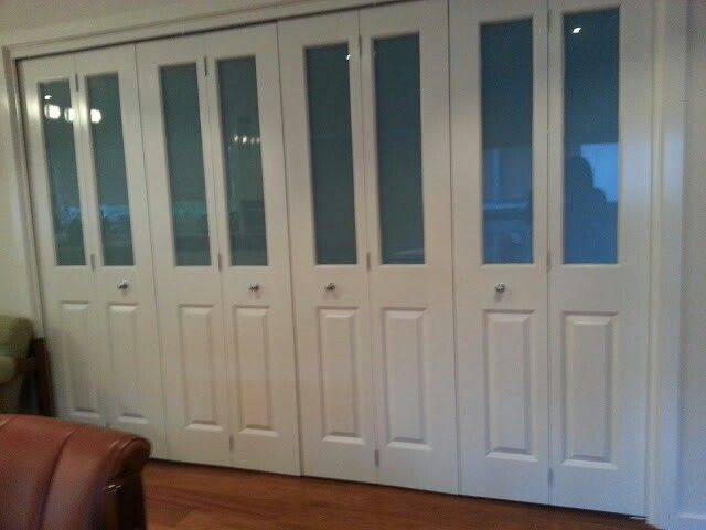 Collapsible doors - great for opening up space