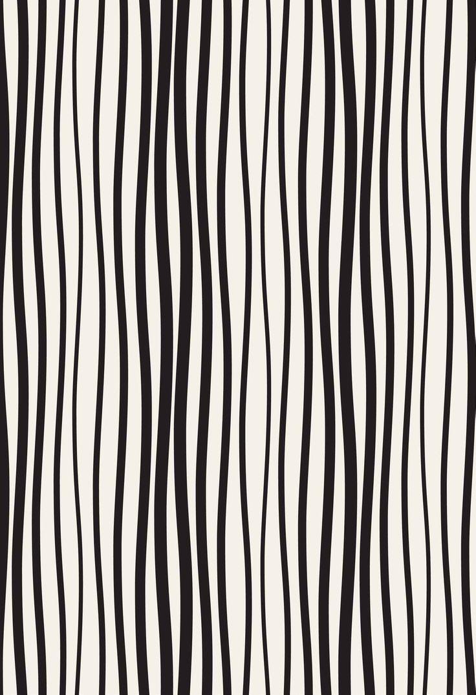 lineas verticales negro y crema papeles murales diseños