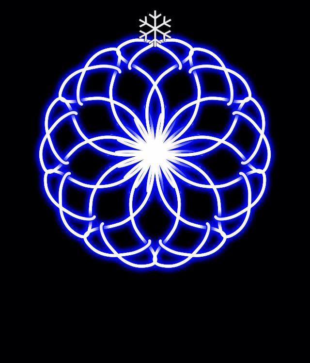 Da blue flower