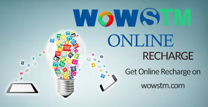 The simplest and easiest way of online recharging your mobile at wowstm.com. #onlinerecharge, #phonerecharge, #mobilerecharge, #quickrecharge, #idearecharge, #airtelrecharge